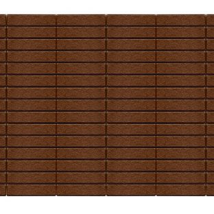 Прямоугольник  коричневый 200х50